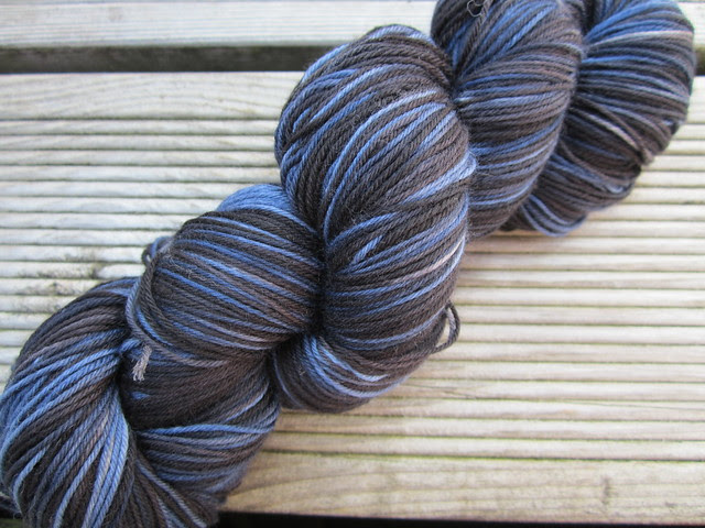 Midnight sky hand dyed