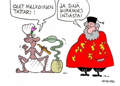 Melkoinen tataari 21.4.17