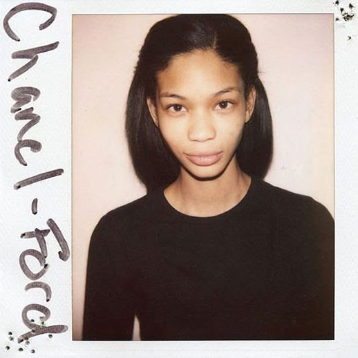 LE FASHION BLOG DOUGLAS PERRETT WILD THINGS BOOK MODEL CASTING PHOTOGRAPHS BEFORE CHANEL IMAN POLAROIDS 3