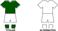 Uniforme Selección Nueva Esperanza de Fútbol