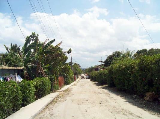 Esta es considerada la calle más peligrosa del Callejón. Aquí fueron los sucesos violentos del fin de semana (foto del autor)