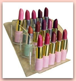 makeup organizer in