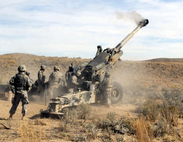 EE.UU. finalizamos un gobierno 700 millones a propuesta del gobierno para vender obuses M777 a la India 640 001