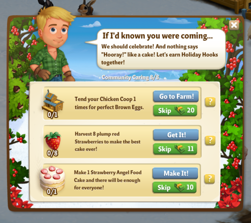 Holiday Book - Stage 1 - FarmVille 2