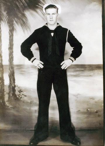 My father, circa 1945