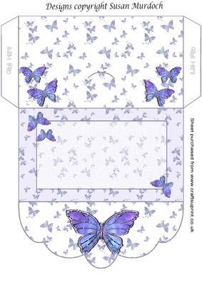 Download Gift Envelope/money Wallet - Butterflies - CUP164766_489 ...