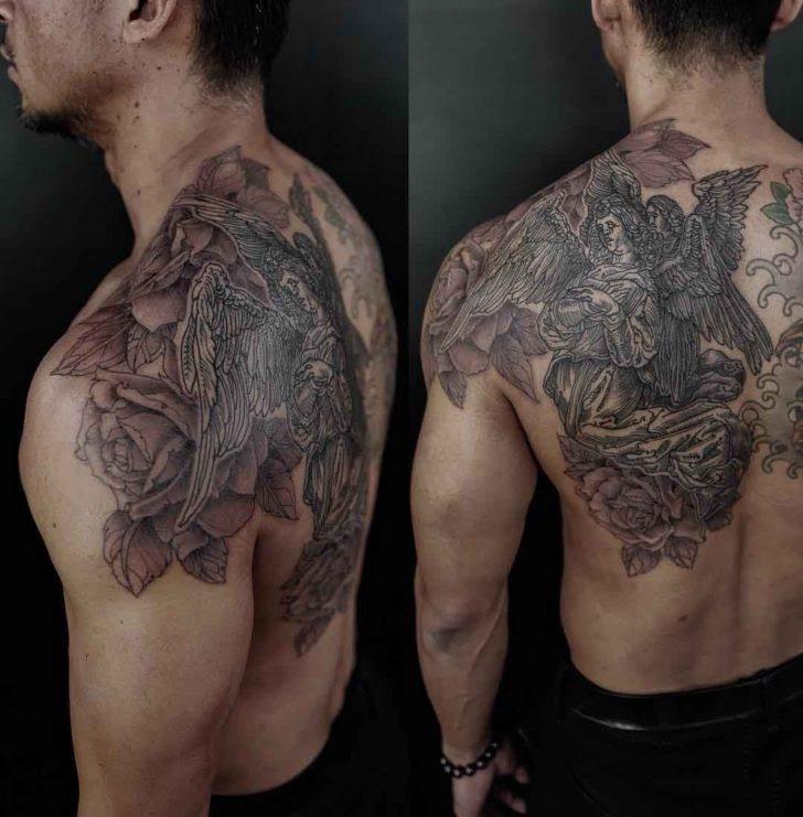 Angel Rose Tattoo Best Tattoo Ideas Gallery