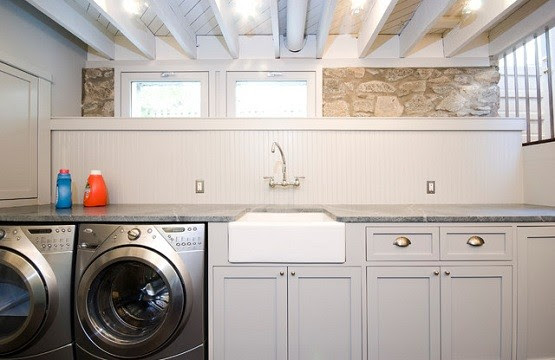 small basement bathroom designs with laundry area