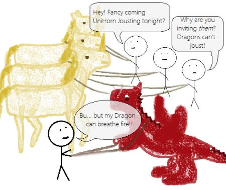 Unicorn Jousting