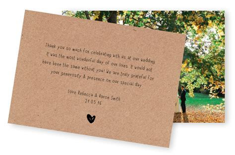 5 Wording Ideas for Your Wedding Thank You Cards ? For the