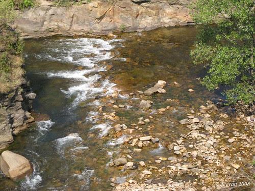 Pebble stream Nirar
