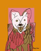 Artist  Singh - Dog 2 By Artist Singh
