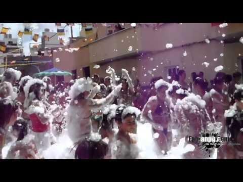 Video Exposición de Coches, Comida de Hermandad, Fiesta de la Espuma