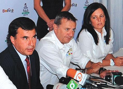 Organizadores del Dakar vuelven en junio a Bolivia