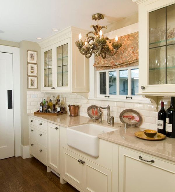 28 Kitchen Cabinet Ideas With Glass Doors For A Sparkling ...