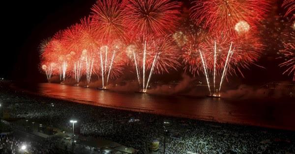 Réveillon Rio de Janeiro economia turistas