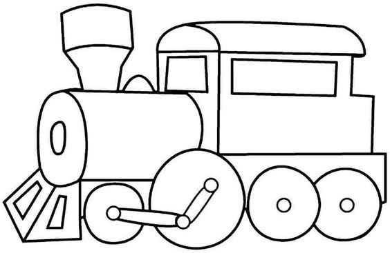 Tren Boyama Sayfasi 1 Okul öncesi Etkinlik Faliyetleri