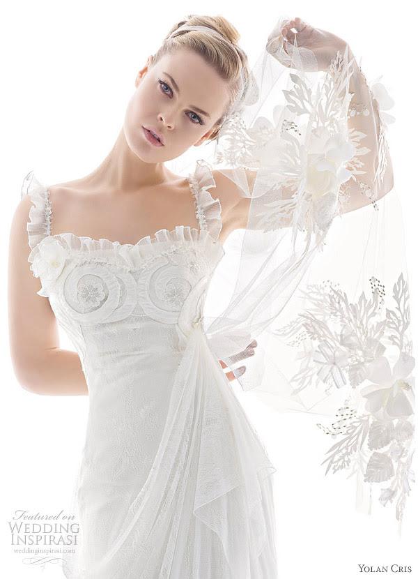 Ethereal Wedding Dress. Yolan Cris wedding dress 2010