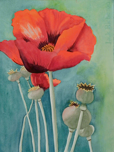 Judy Horne: Poppy Dancers by trudeau