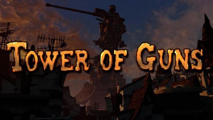Tower of Guns: capa do jogo mostra a torre a ser conquistada (Foto: Divulgação)