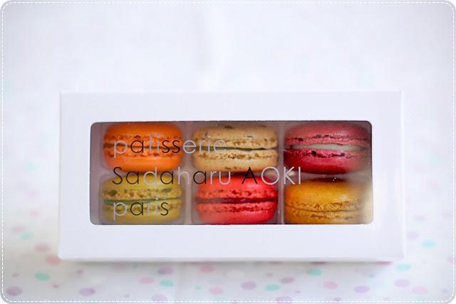 Sadaharu AOKI's macarons