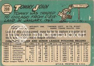 #208 Tommy John (back)