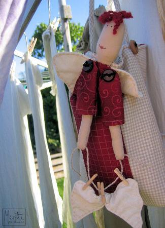 angel bag :: engelbag for klesklyper
