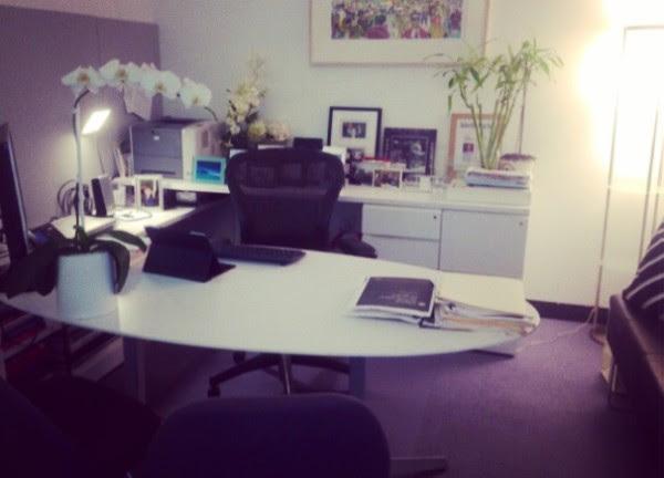 Marisa Thalberg work area