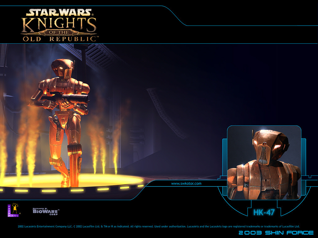 Star Wars Knights Of The Old Republic Wallpaper Shin Force Systems Microsoft Xbox Reviews