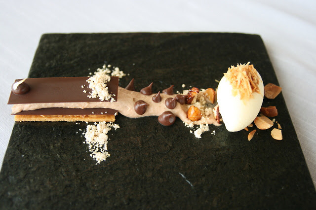 Choconuts 2012 - Tanariva Mousse, Peanuts, Macadamia Nut Ice Cream