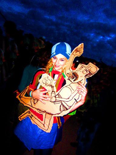 Fan de Katerine à La Route du Rock 2006 à Saint Malo