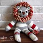 Come fare un pupazzo leone da riciclo calzini