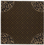 Louis Vuitton Monogram Leopard Scarf