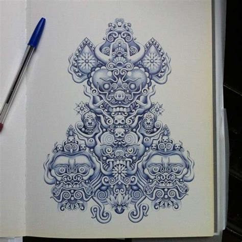 unfathomably detailed  drawings bic  drawings
