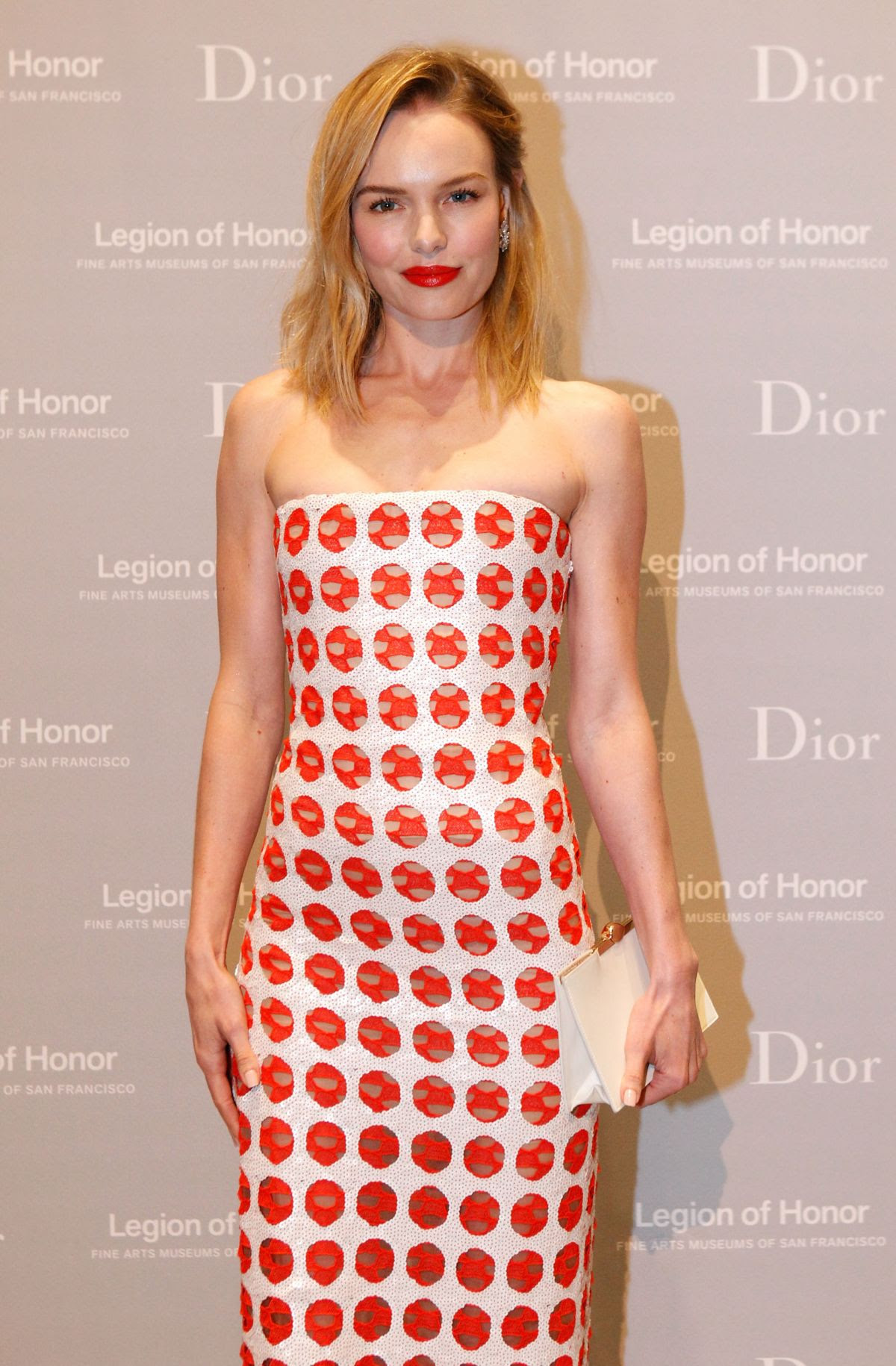 KATE BOSWORTH at 2015 Mid-winter Gala Presented by Dior in San Francisco