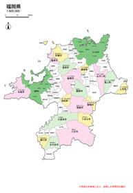 最新市町村合併地図九州沖縄地方無料地図素材 Mmgクリエイティブ