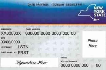 Credit Card Number New York