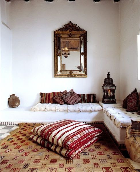 Moroccan style sitting room / lounge