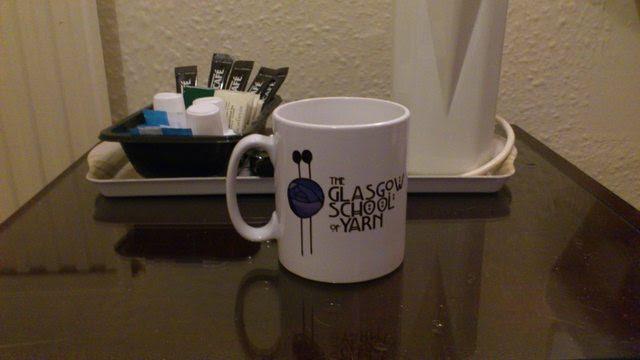 Glasgow School of Yarn Yarn Cake GSOY Mug