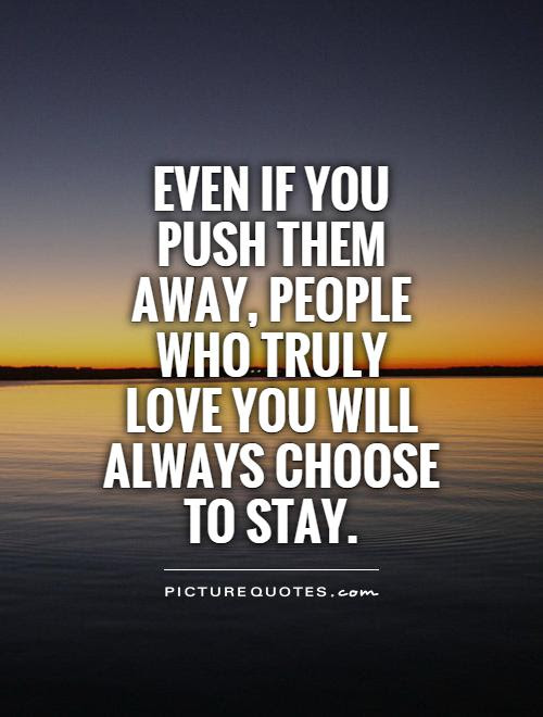 Best 50+ You Pushed Me Away Quotes And Images - Mesgulsinyali