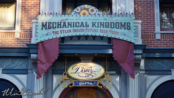 Disneyland Resort, Disneyland, Main Street U.S.A., The Disney Gallery, Mechanical Kingdoms, The Opera House