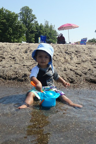 torry at the beach