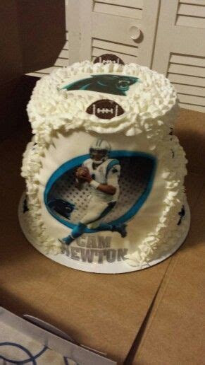 78  ideas about Carolina Panthers Cake on Pinterest   Nfl