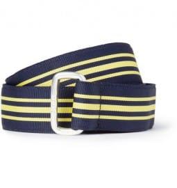 Polo Ralph Lauren Striped Grosgrain Belt