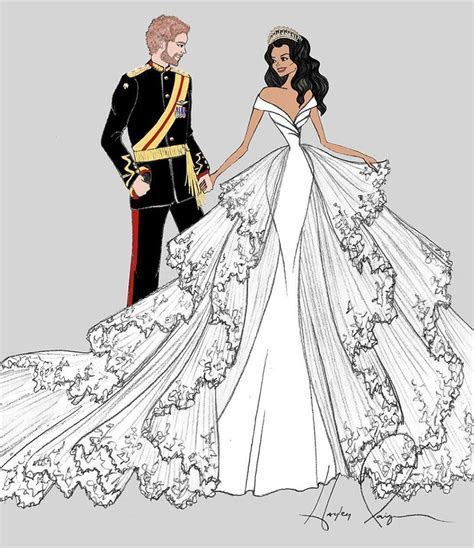 This is What Meghan Markle's Wedding Dress Will Look Like