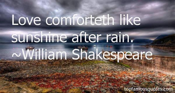 Sunshine After Rain Quotes Best 3 Famous Quotes About Sunshine