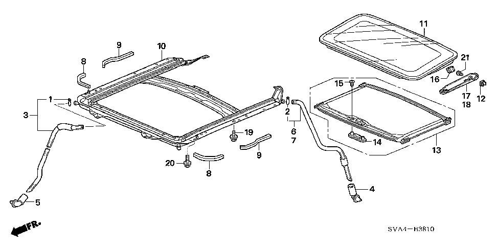 2006 Honda Accord Parts Diagram