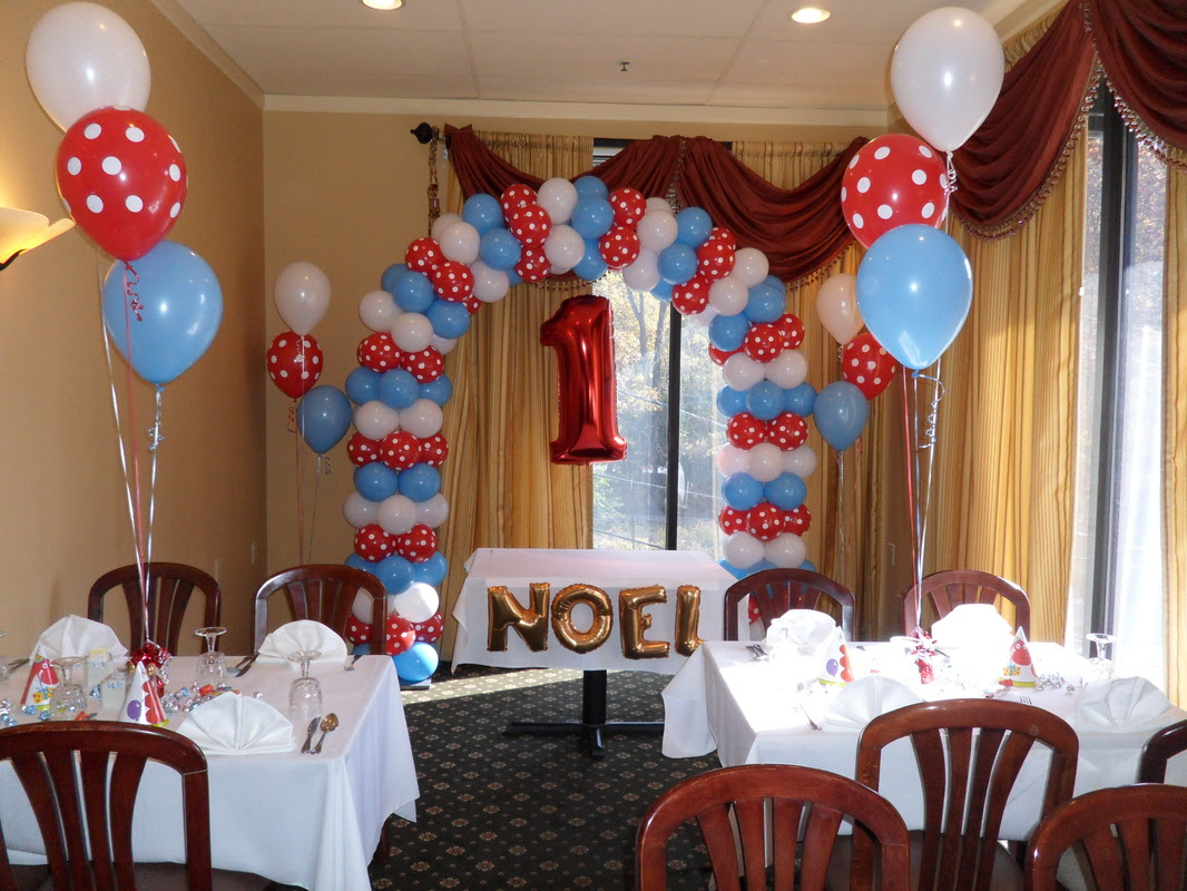 Blue Red And White Party Party Decorations By Teresa