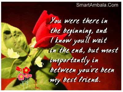 You Were There In The Beginning Friendship Quote Quotespicturescom