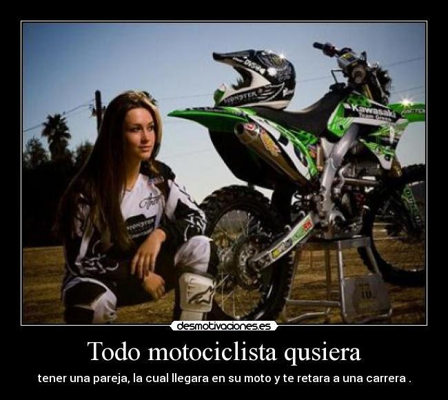 Imagenes De Motocross Con Frases Bonitas En Espaãol Helowinl